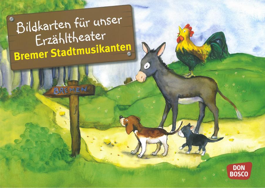 Bildkarte Bremer Stadtmusikanten