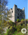Bösingen-Herrenzimmern - Burgruine Herrenzimmern