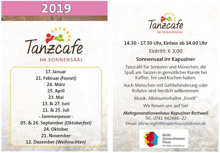 Tanzcafe Mehrgenerationenhaus Kapuziner Rottweil