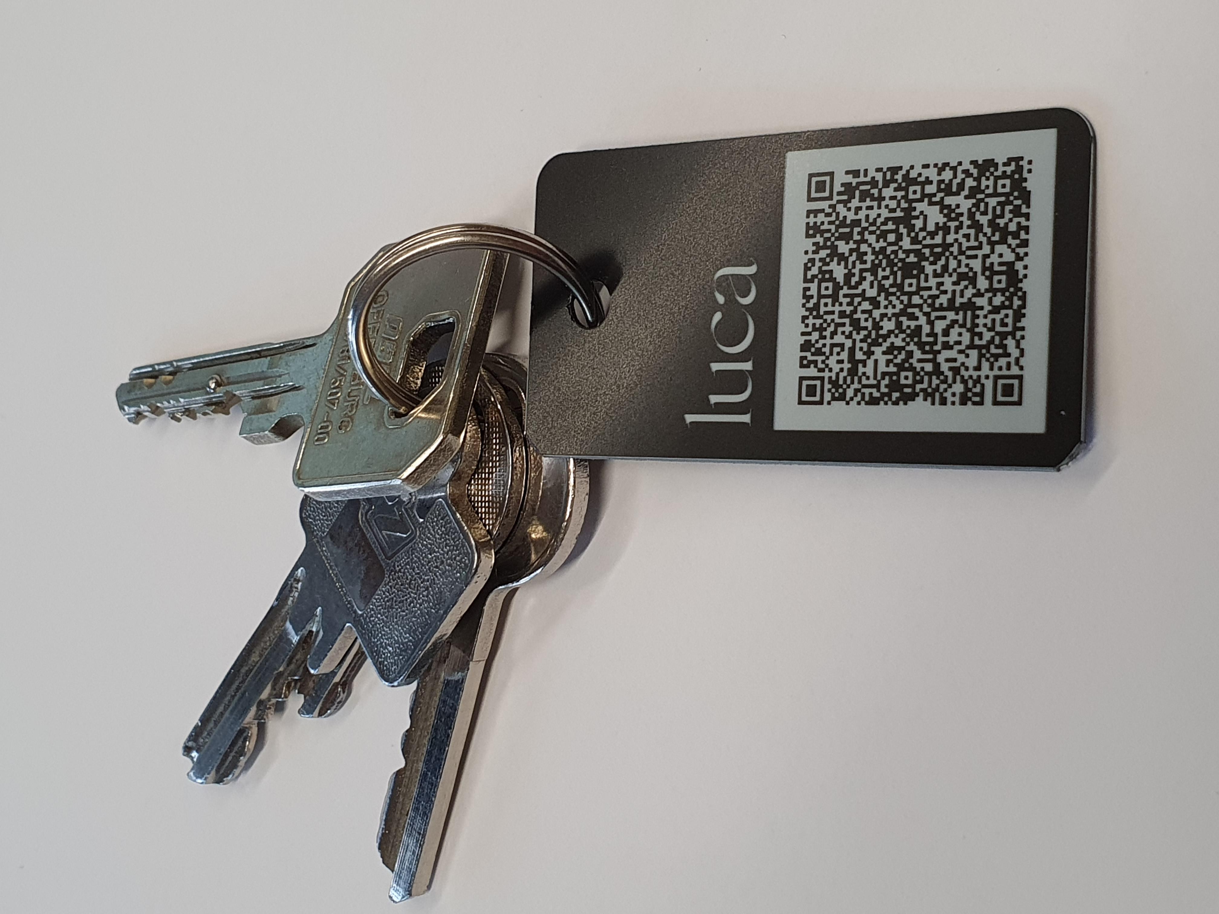 luca QR-Code Schlüsselanhänger